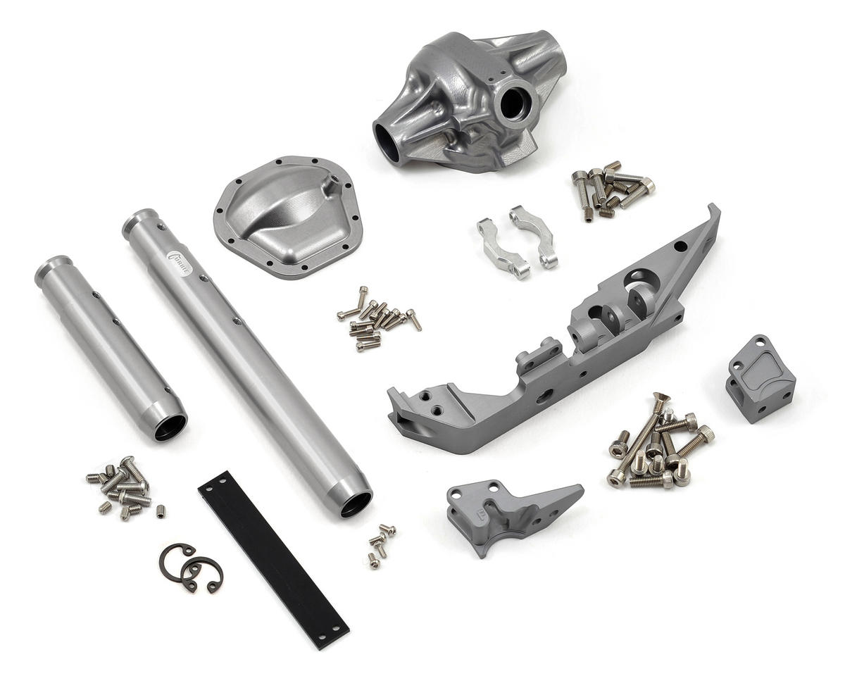"Vanquish Products ""Currie Rockjock"" Wraith Rear Axle (Grey)"