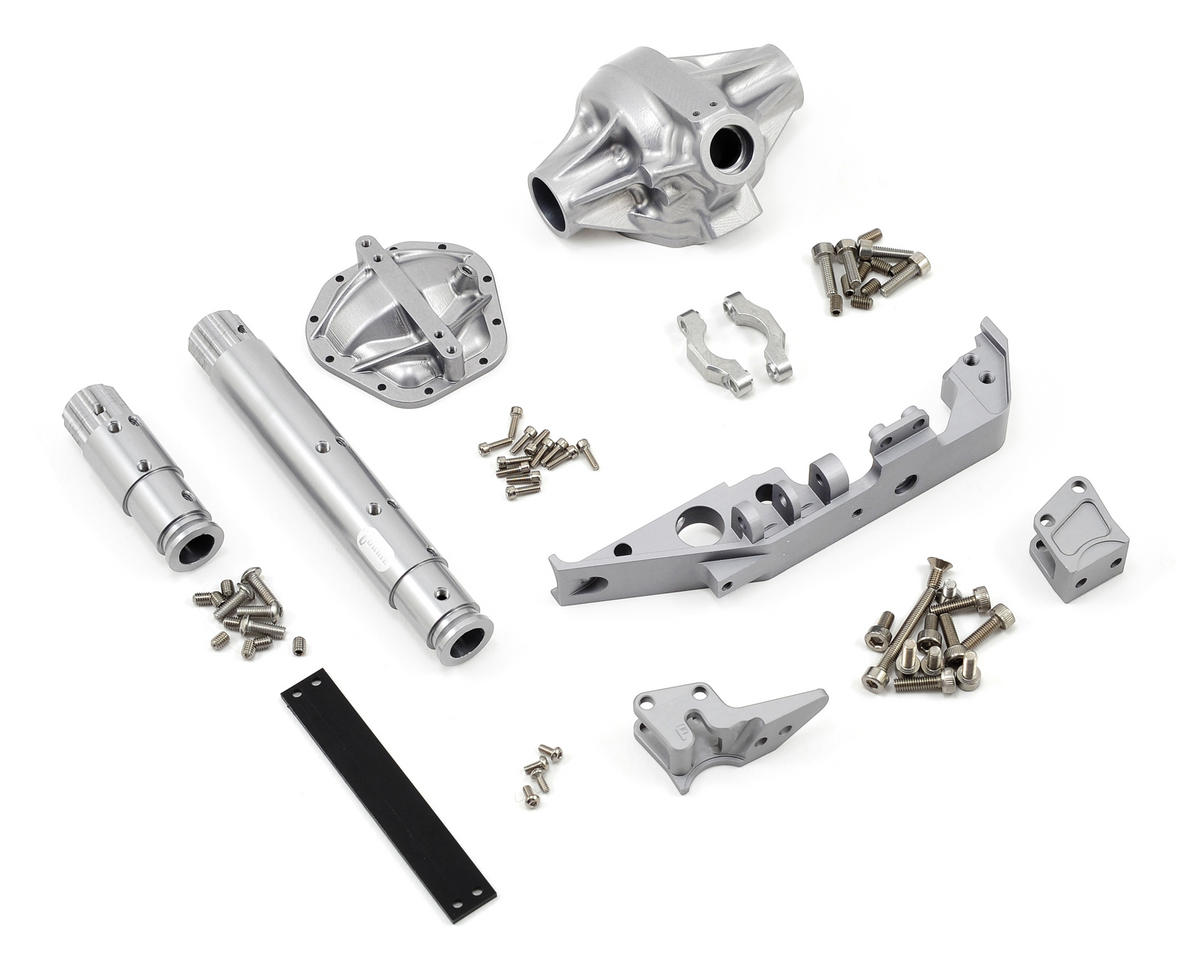 "Vanquish Products ""Currie Rockjock"" Wraith Front Axle (Silver)"