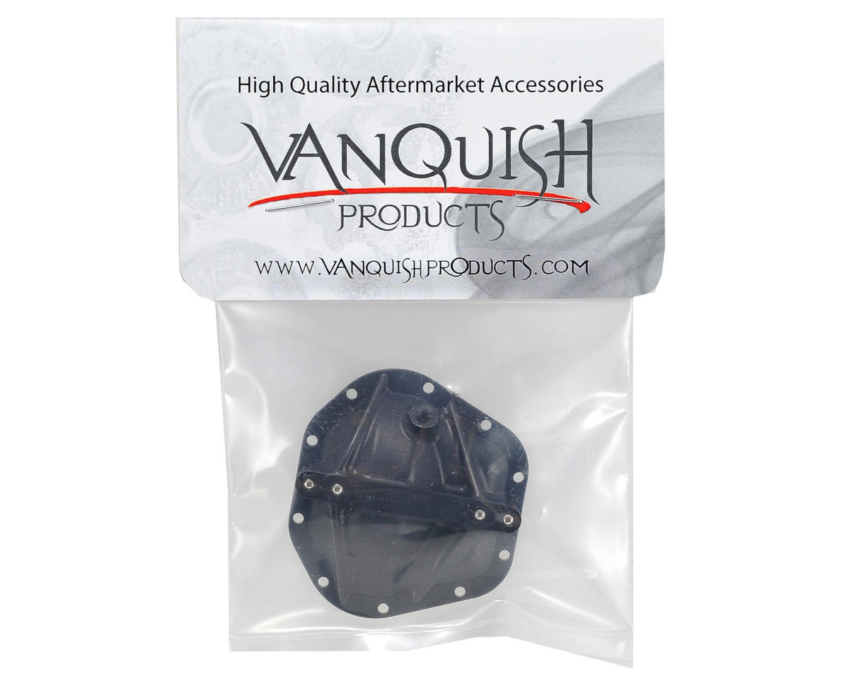 """Ultimate 60 LPW"" Differential Cover (Black) by Vanquish Products"