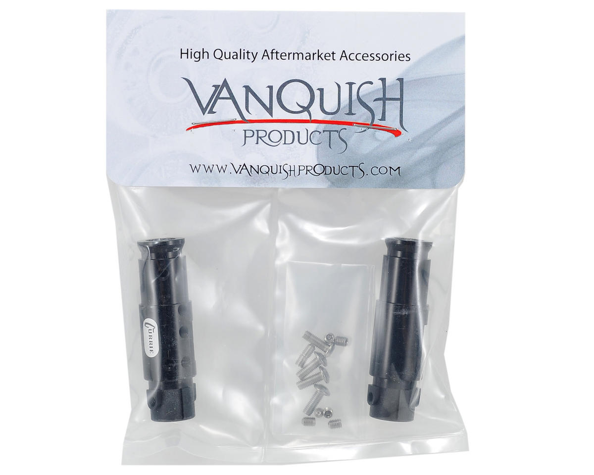 "Vanquish Products ""Currie Rockjock"" SCX10 Front Tubes (Black)"