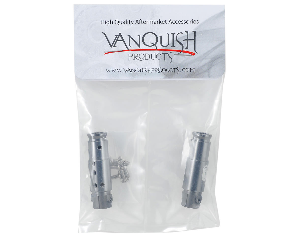"Vanquish Products ""Currie Rockjock"" SCX10 Front Tubes (Grey)"