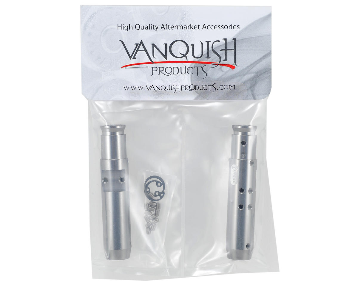 "Vanquish Products ""Currie Rockjock"" SCX10 Rear Tubes (Grey)"