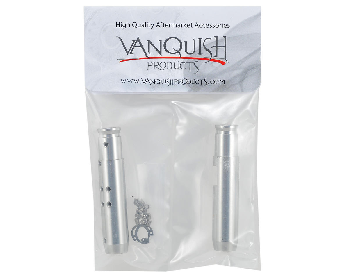"Vanquish Products ""Currie Rockjock"" SCX10 Rear Tubes (Silver)"