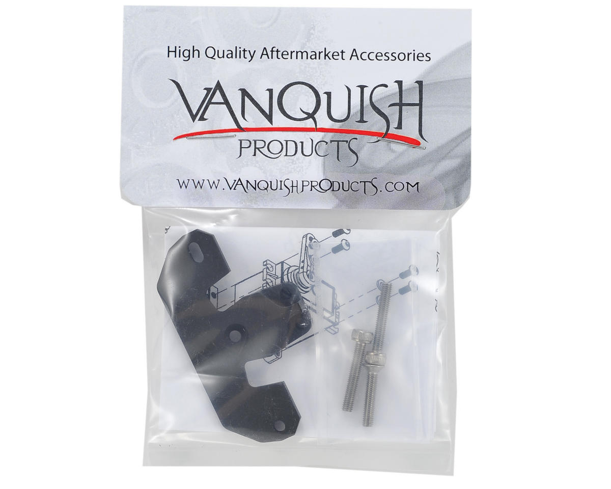 """Currie Rockjock"" Servo Mount (Black) by Vanquish Products"