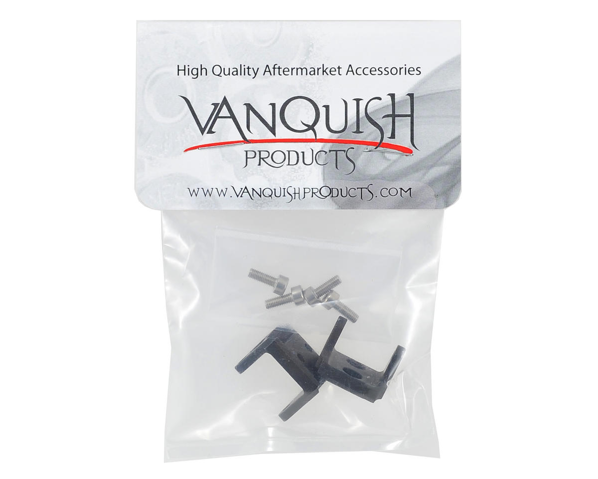 "Vanquish Products ""Currie Rockjock"" Lower Link Mount Set (Black)"