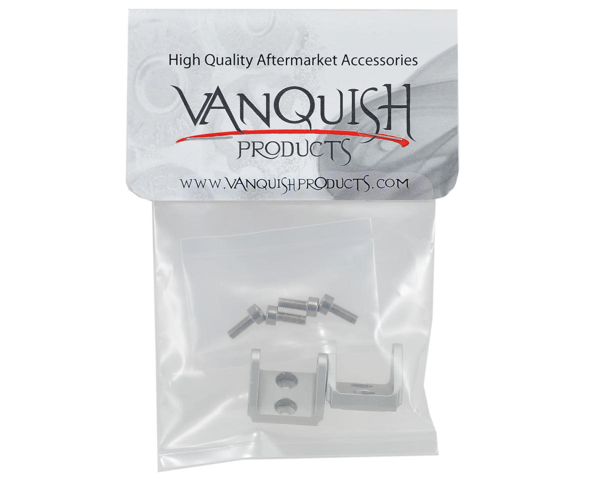 "Vanquish Products ""Currie Rockjock"" Lower Link Mounts (Silver)"