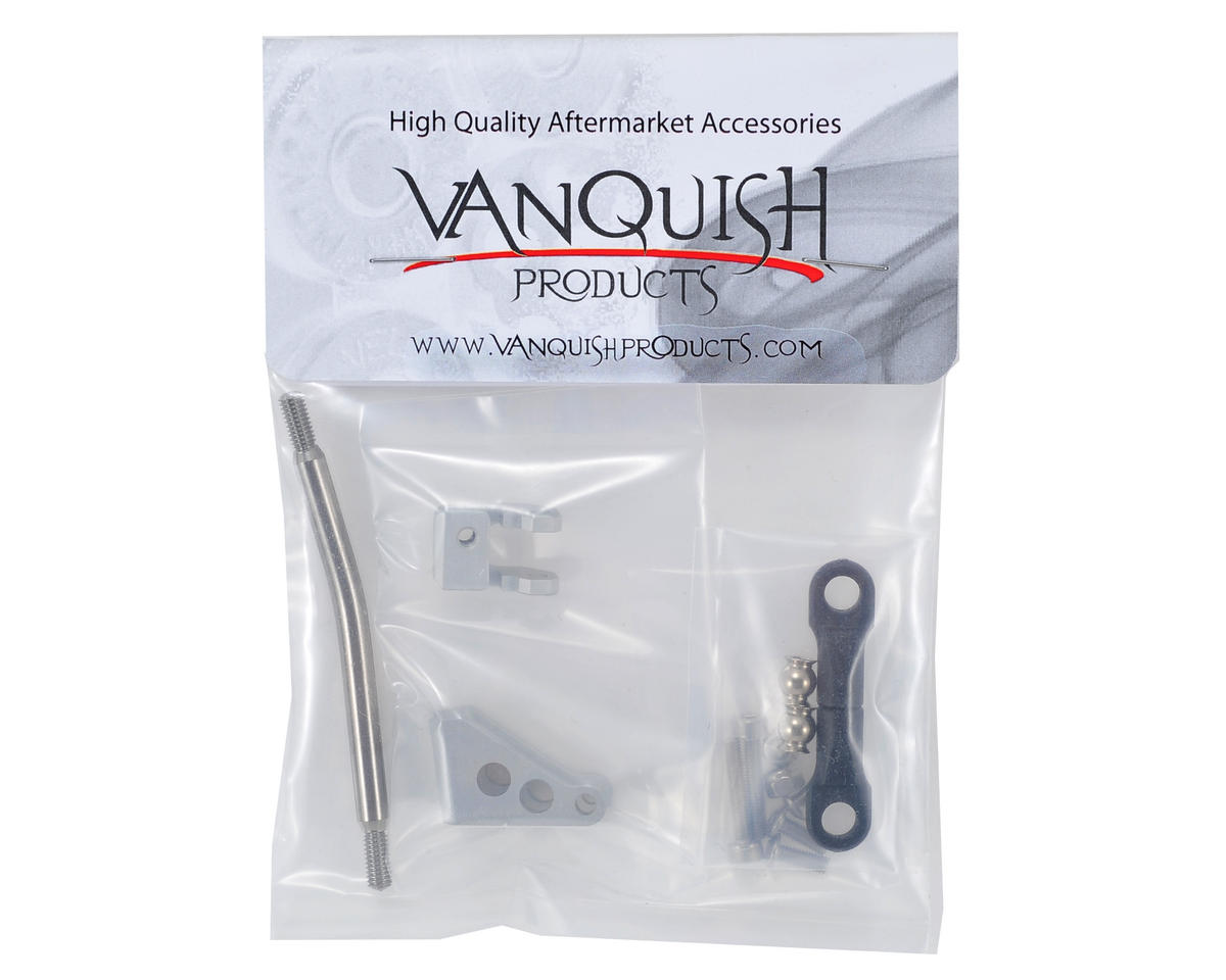 Vanquish Products SCX10/JK Currie Axle Panhard Bar (Silver)