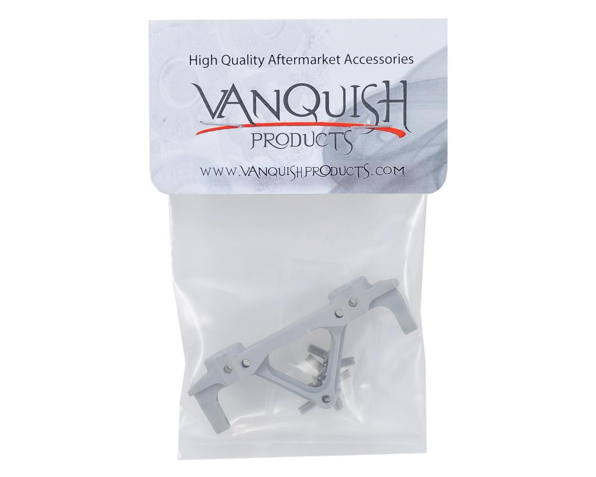 Vanquish Products SCX10 JK Rear Bumper Mount (Silver)