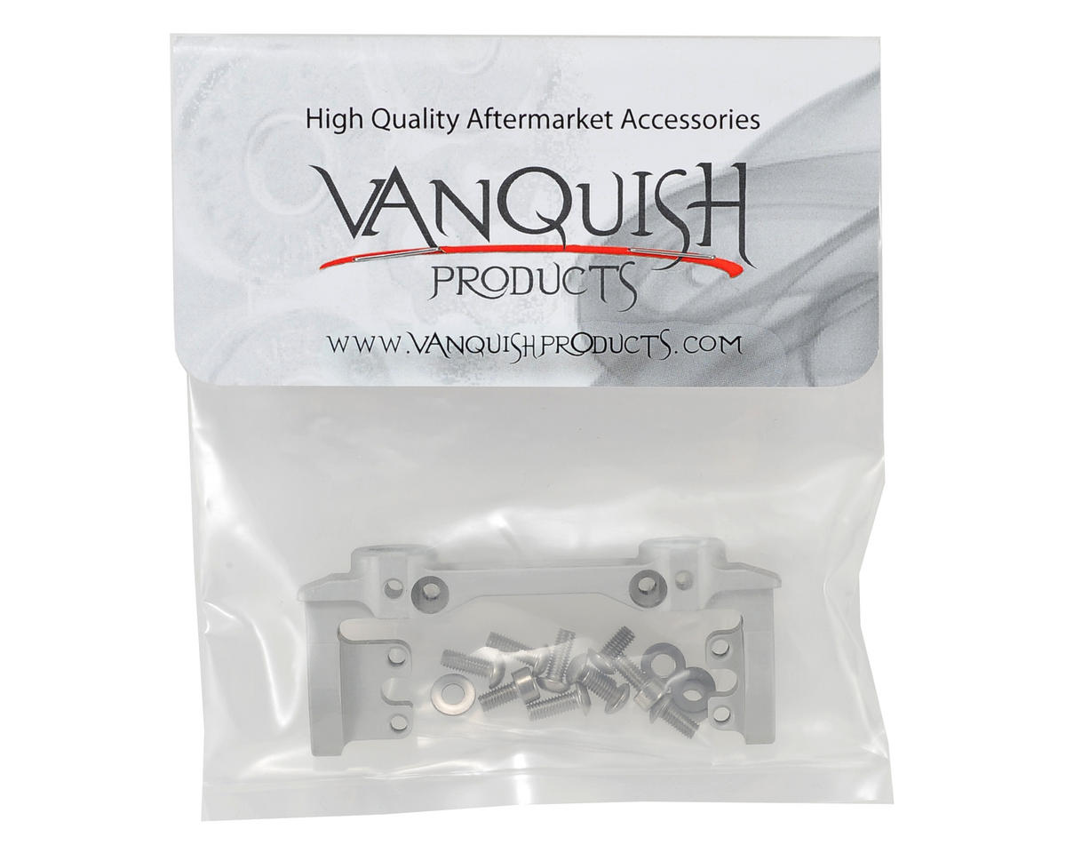 SCX10 Front Bumper & Servo Mount (Silver) by Vanquish Products