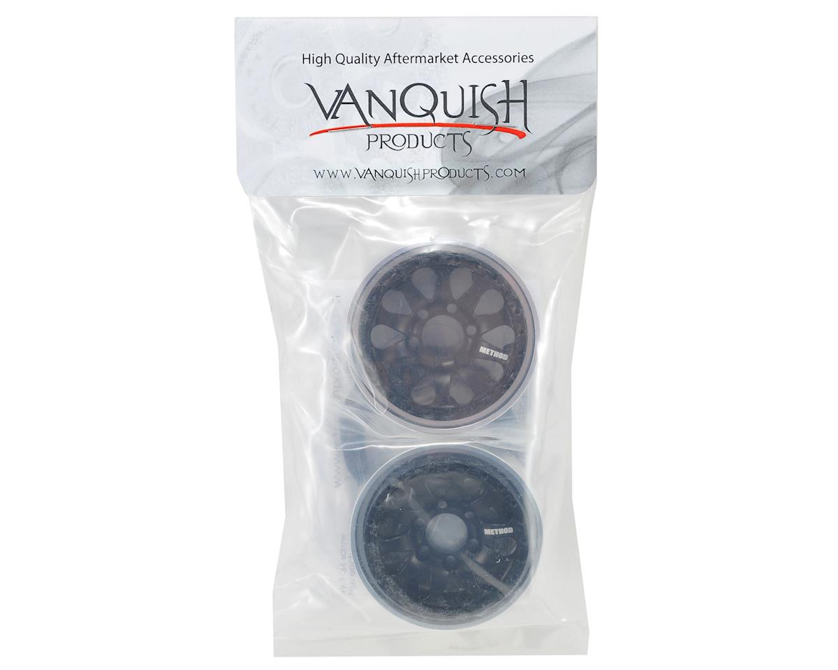 Vanquish Products Method 101 1.9 Aluminum Beadlock Crawler Wheel (2-Black)