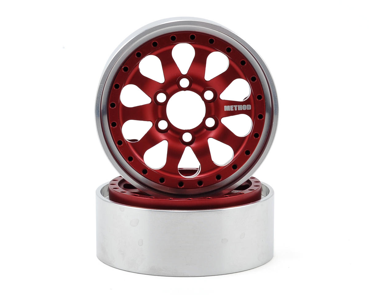 Vanquish Products Method 101 1.9 Aluminum Beadlock Crawler Wheel