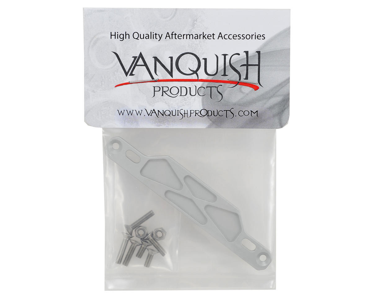 Vanquish Products SCX10 Side Rail Electronic Tray Plate (Silver)