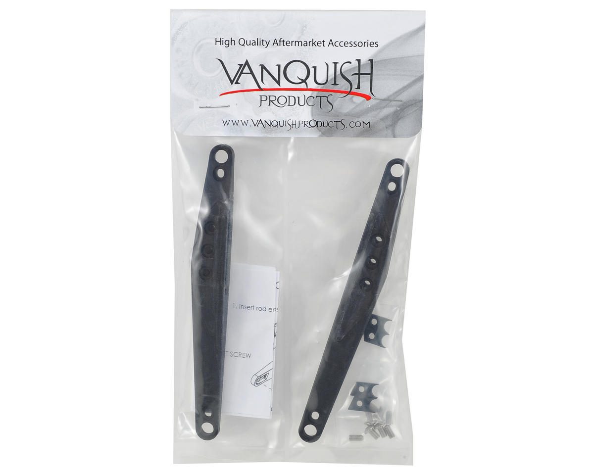 Vanquish Products Vaterra Twin Hammers Trailing Arm Set (Black) (2)