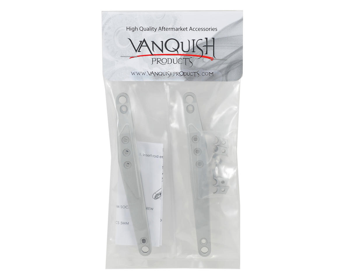 Vanquish Products Vaterra Twin Hammers Trailing Arm Set (Silver) (2)