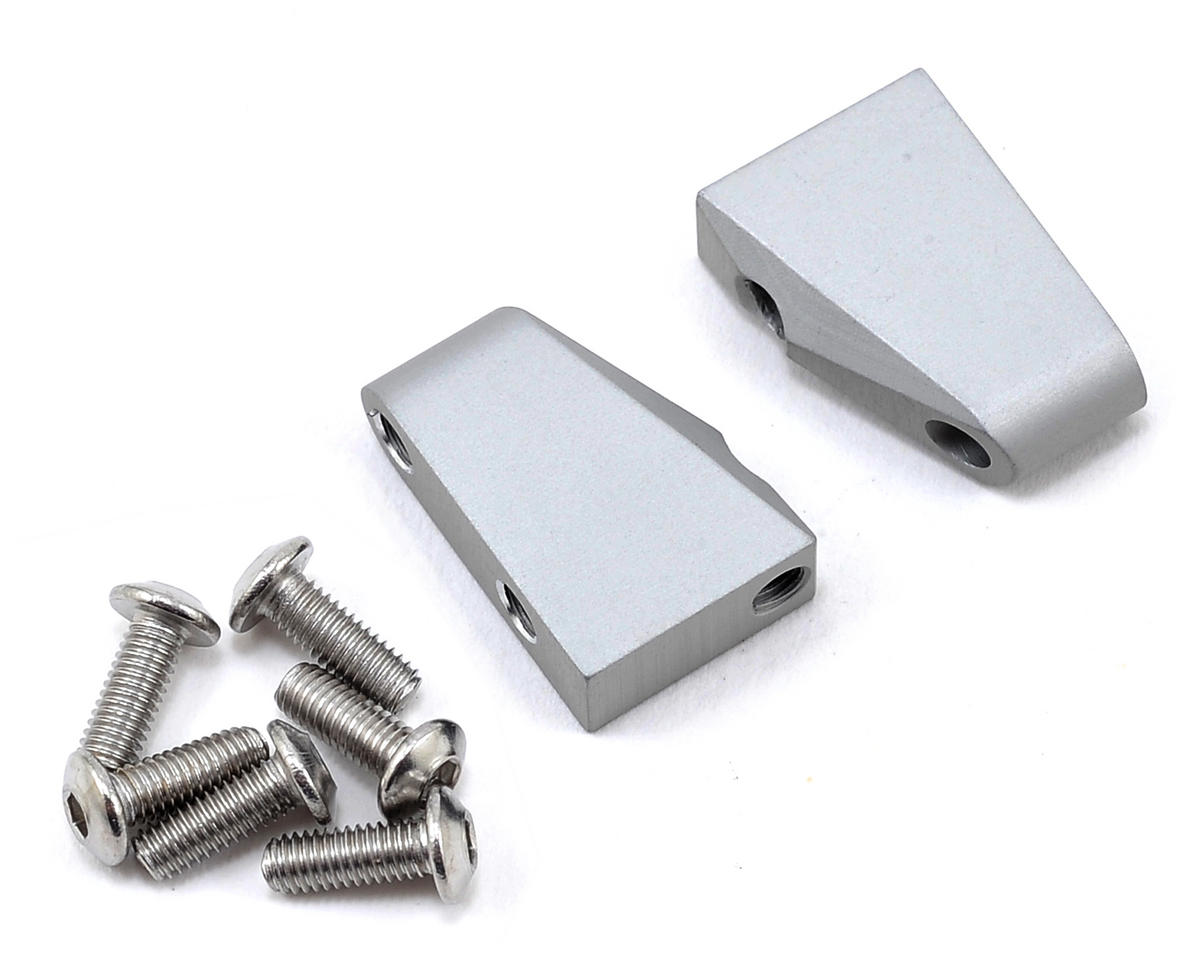 Vanquish Products Wraith Aluminum Servo Mount Set (Silver) | relatedproducts