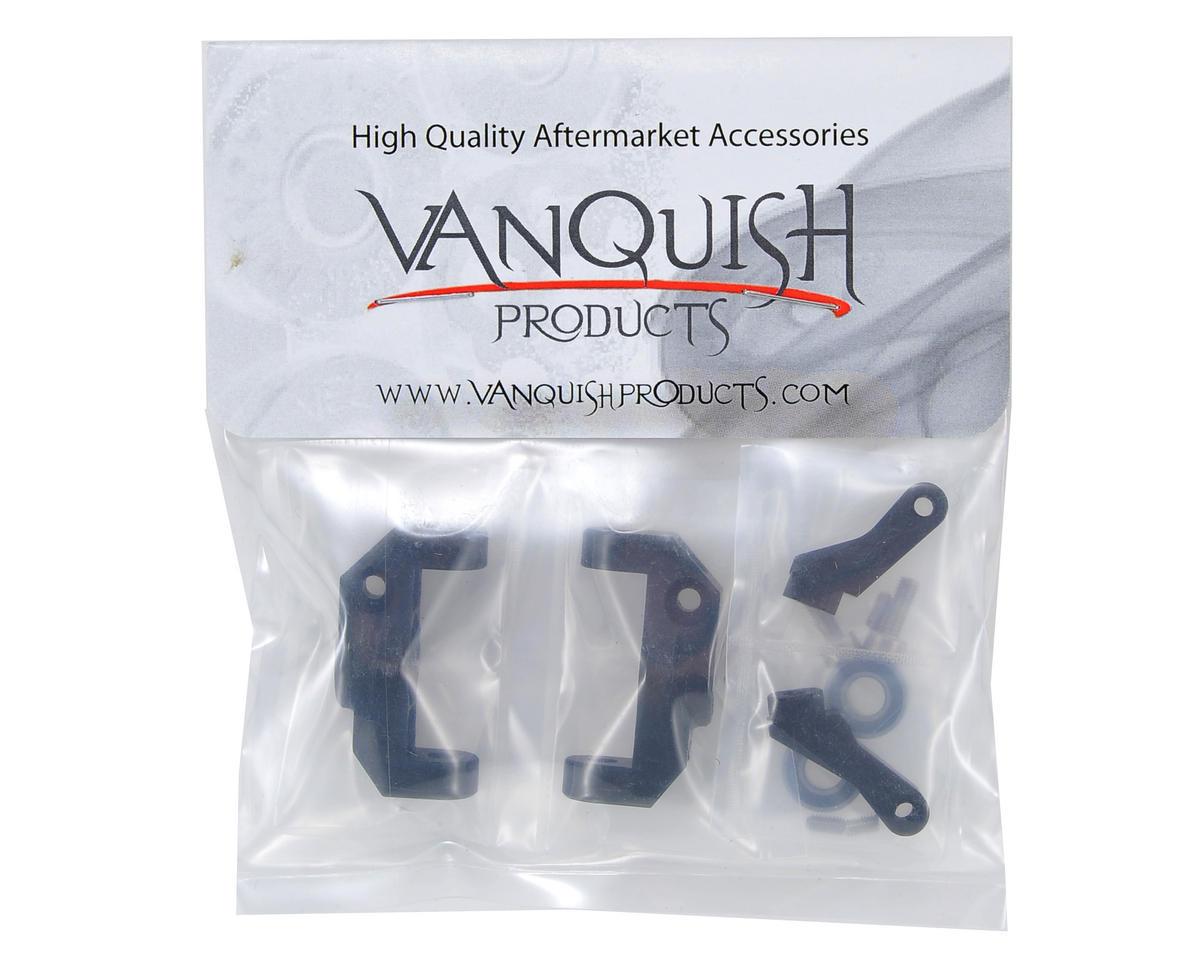 Vanquish Products Vaterra Twin Hammers HD Aluminum Steering Knuckles (Black) (2)