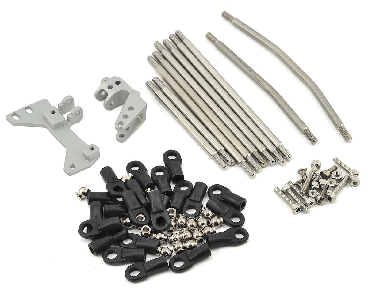 Vanquish Products SCX10 CMS/Panhard/3-Link Conversion Kit (Silver)