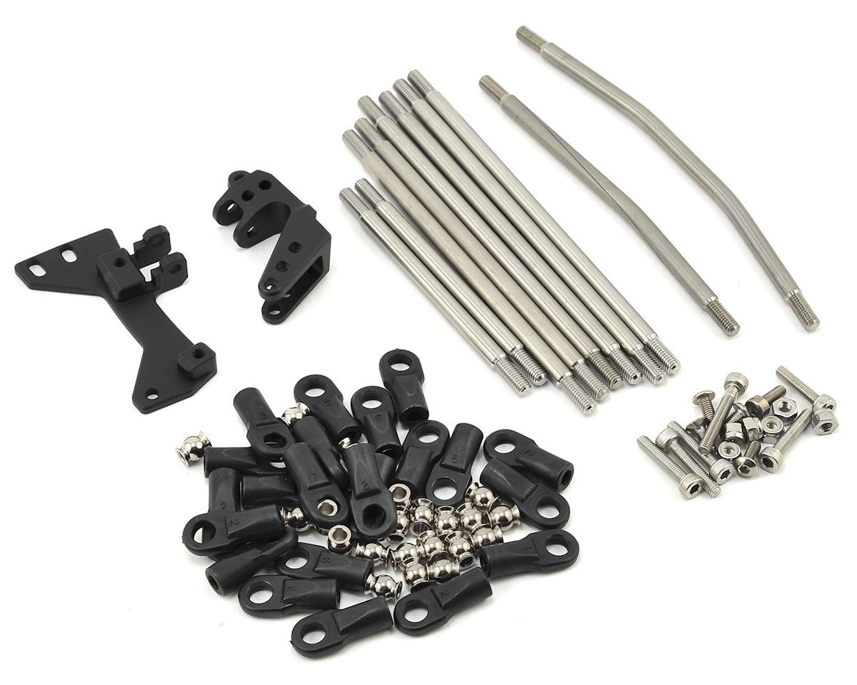 Vanquish Products SCX10 CMS/Panhard/3-Link Conversion Kit (Black)