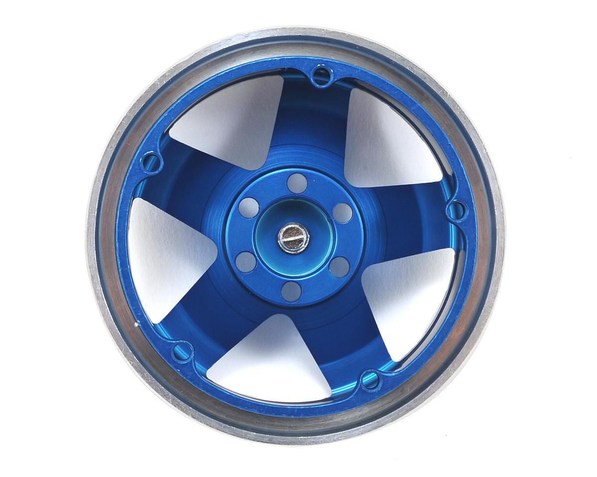 "Vanquish Products KMC Rockstars 2.2"" Beadlock Wheels (2) (Blue)"