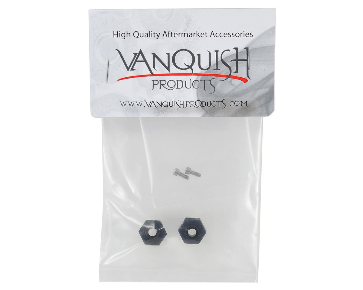 Aluminum 12mm Clamping Wheel Hex (2) (Black) by Vanquish Products