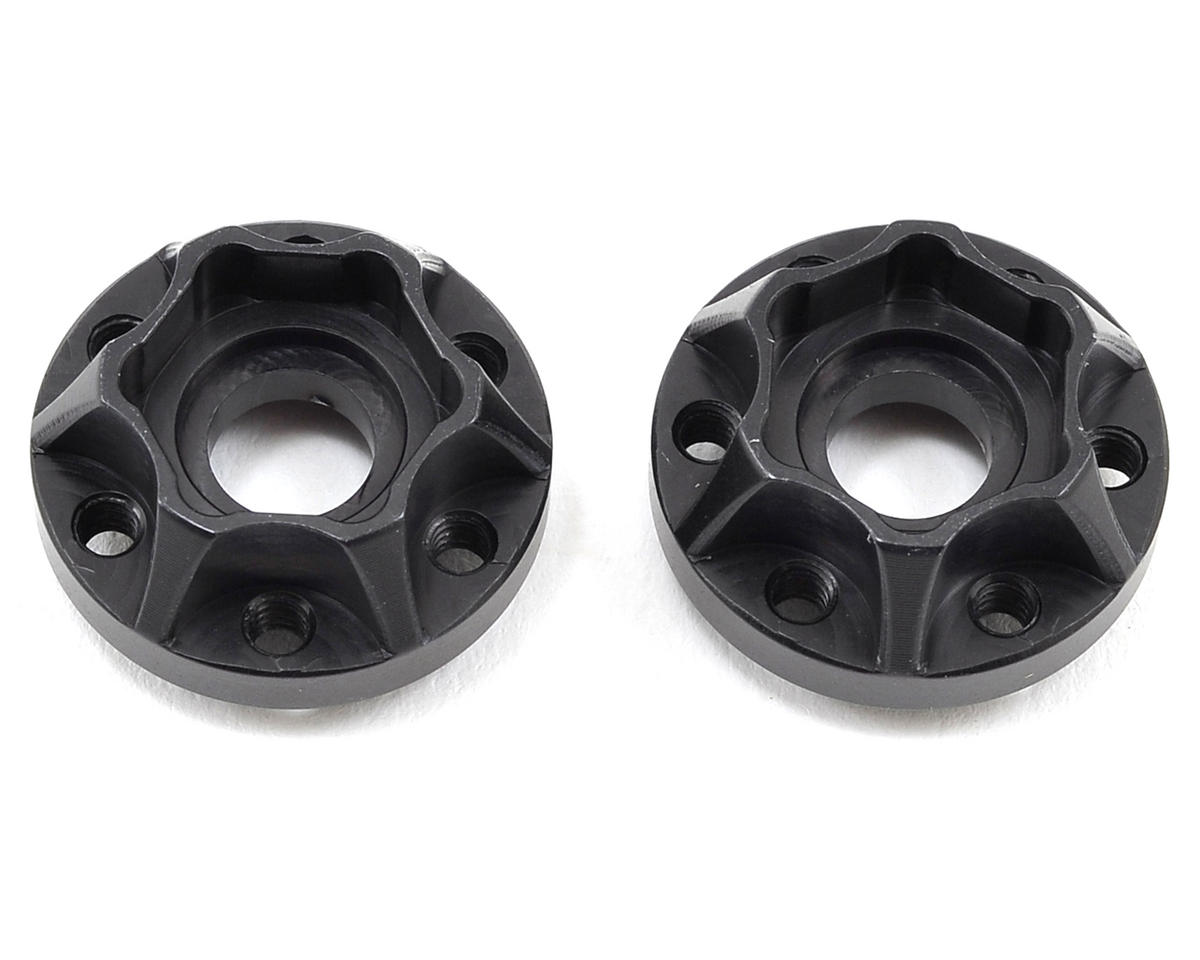 "Vanquish Products 2.2"" Aluminum SLW 350 Hex Hub (Black) (2)"