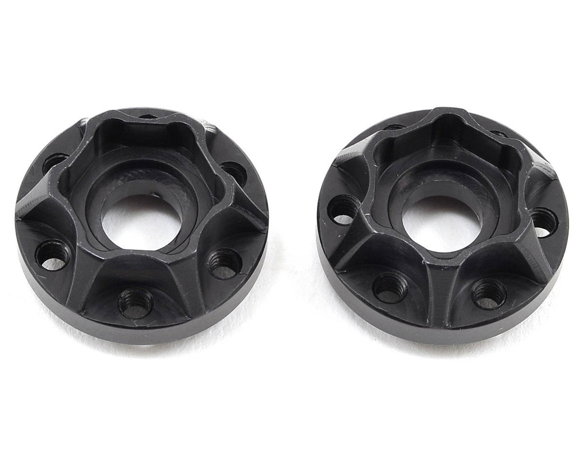 "2.2"" Aluminum SLW 350 Hex Hub (Black) (2) by Vanquish Products"