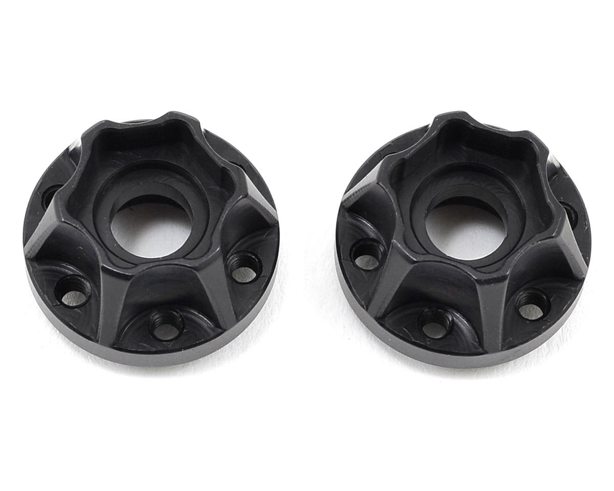 "Vanquish Products 2.2"" Aluminum SLW 475 Hex Hub (Black) (2)"
