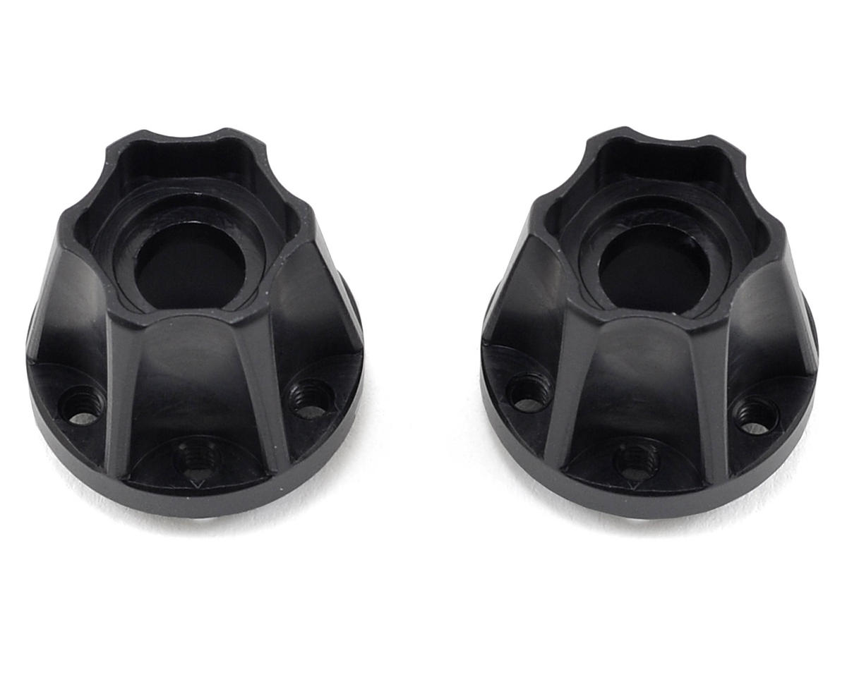 Vanquish Products SLW Hex Hub Set (Black) (2) (725)