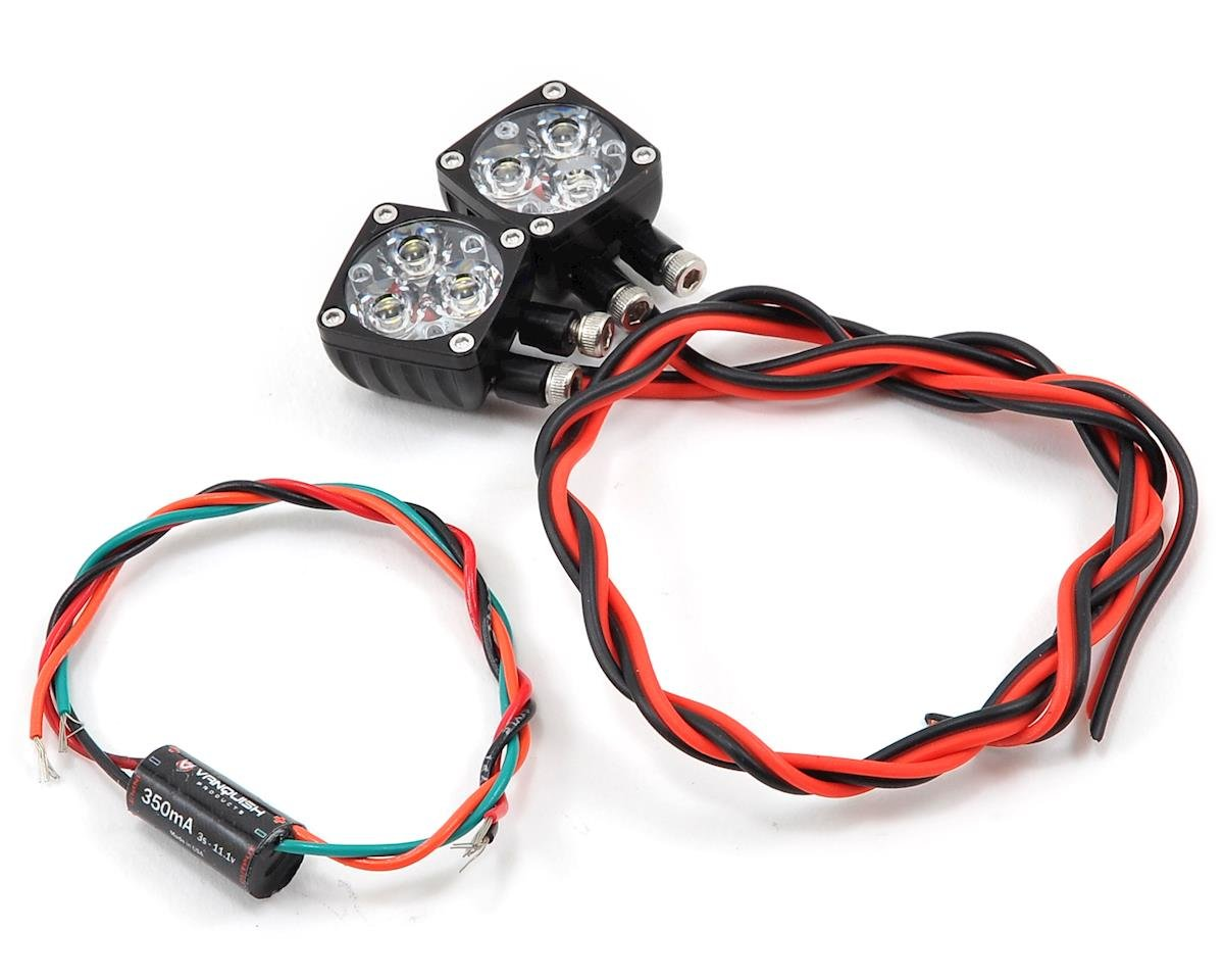 Rigid Industries Q-Series LED Light Set (Black) by Vanquish Products