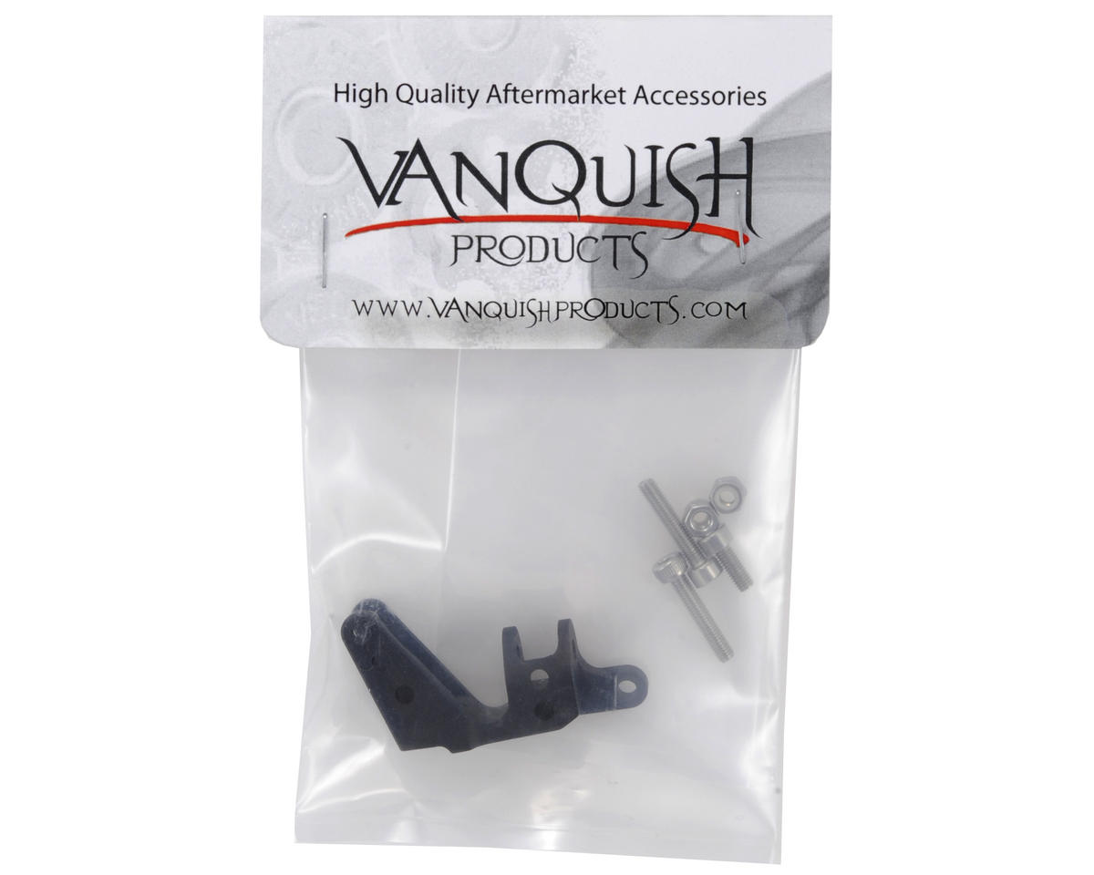 Vanquish Products SCX10 Axle Panhard 3 Link Mount (Black)