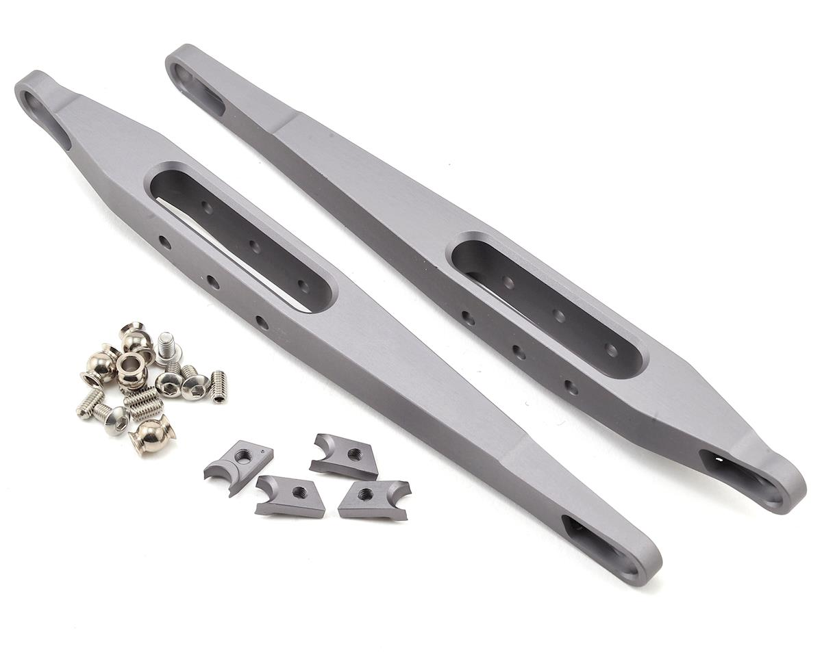 Yeti Trailing Arms (Grey) (2) by Vanquish Products