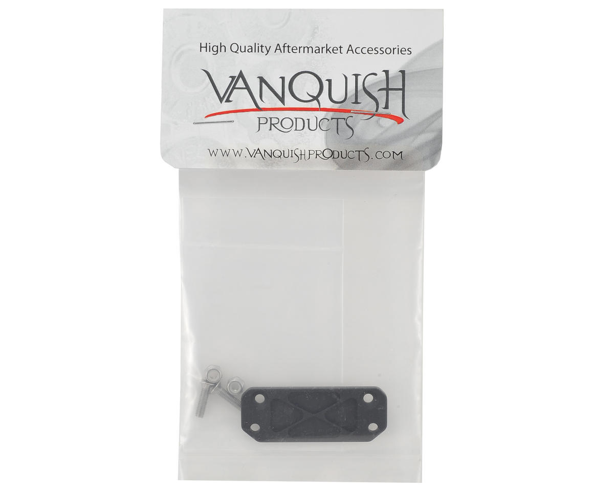 Vanquish Products SCX10 Traxxas Receiver Box Mount (Black)