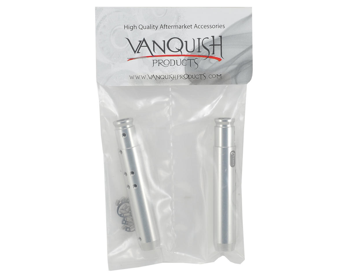 "Vanquish Products ""Currie"" XR10 Rear Tubes (Silver)"