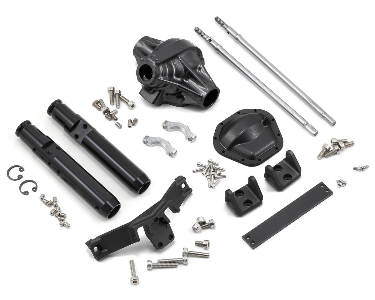"Vanquish Products ""Currie Rockjock"" XR10 Width Rear Axle (Black)"