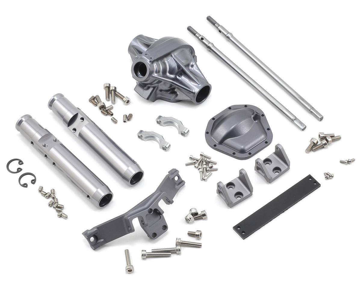 "Vanquish Products ""Currie Rockjock"" XR10 Width Rear Axle (Grey)"