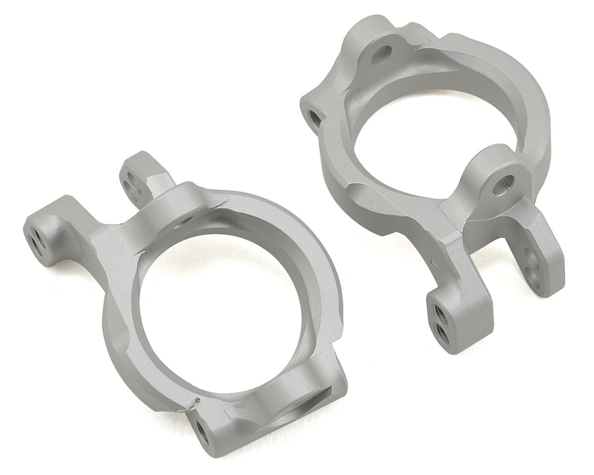 Vanquish Products Yeti Front Castor Block Set (Silver)