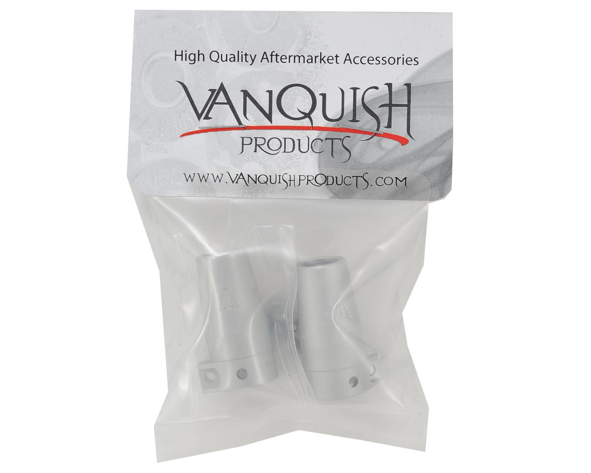 Vanquish Products Aluminum Wraith/Yeti Clamping Lockout (Silver) (2)