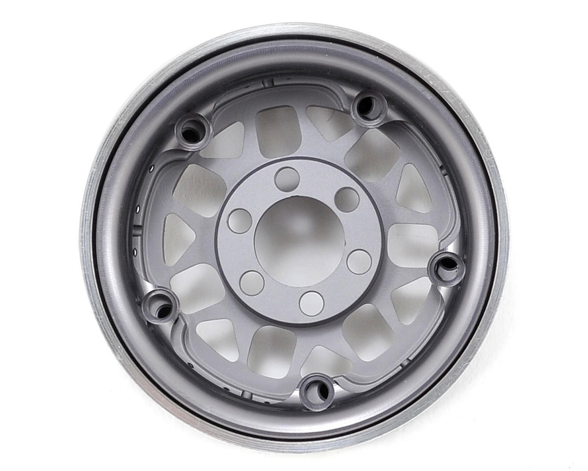 "Vanquish Products KMC 1.9"" XD127 Bully Beadlock Wheels (2) (Grey)"