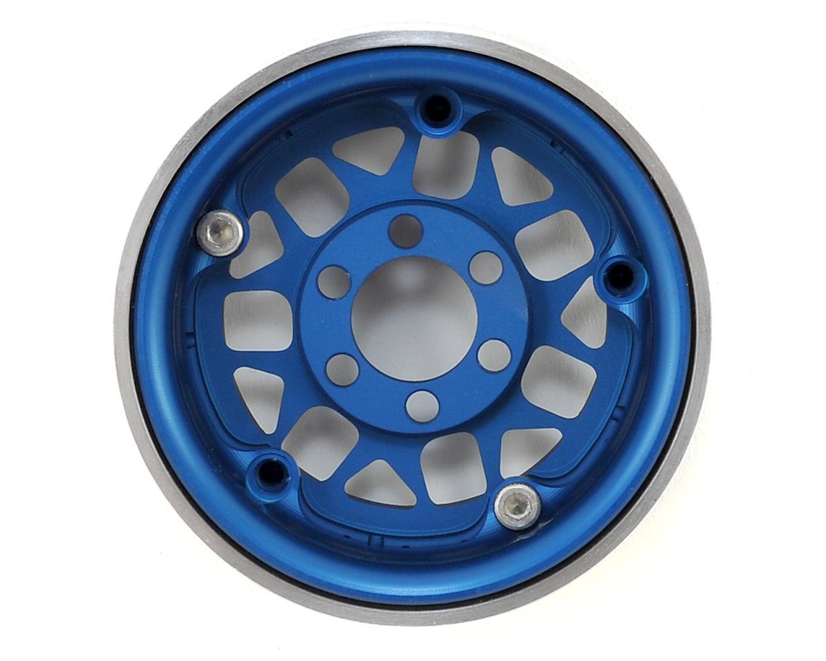 Vanquish Products KMC XD127 Bully 1.9 Beadlock Wheels (2) (Blue)