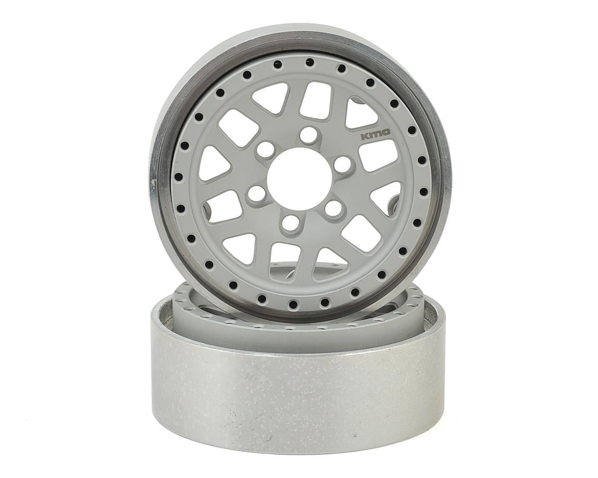 Vanquish Products KMC XD229 Machete 1.9 Beadlock Crawler Wheels (Clear/Black) (2)