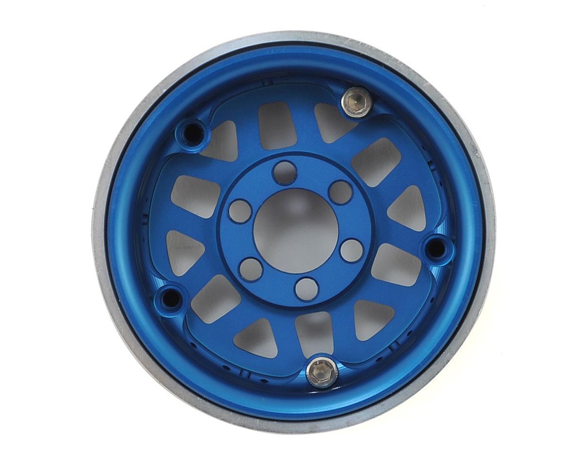 "Vanquish Products KMC XD229 Machete 1.9"" Beadlock Wheels (2) (Blue/Black)"