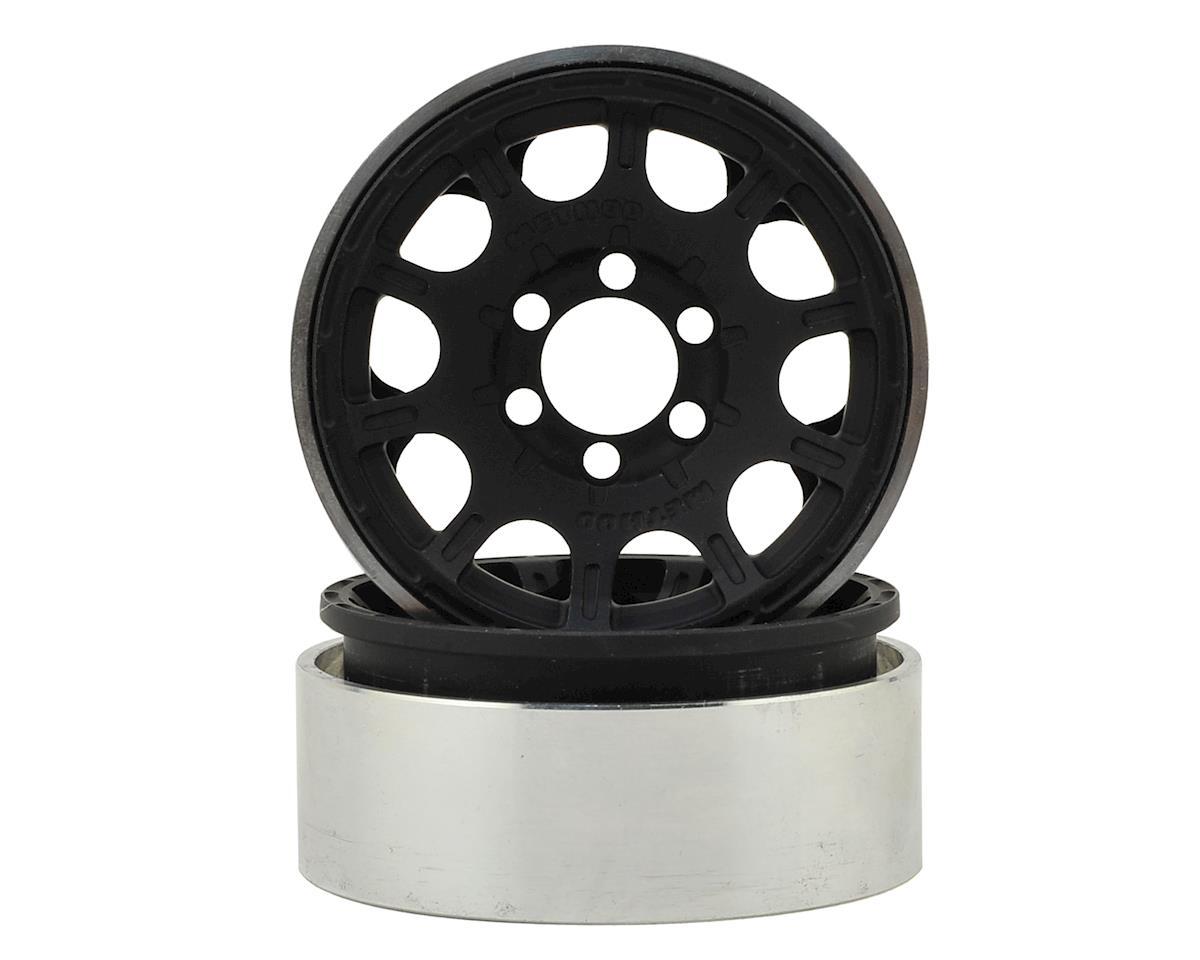 """Vanquish Products Method Roost 1.9"""" Beadlock Wheel (2) (Black)"""