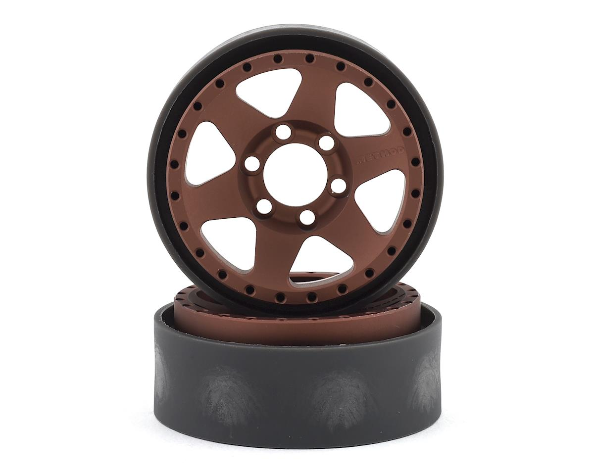 Vanquish Products Method MR310 1.9 Beadlock Crawler Wheels (Bronze/Black) (2)