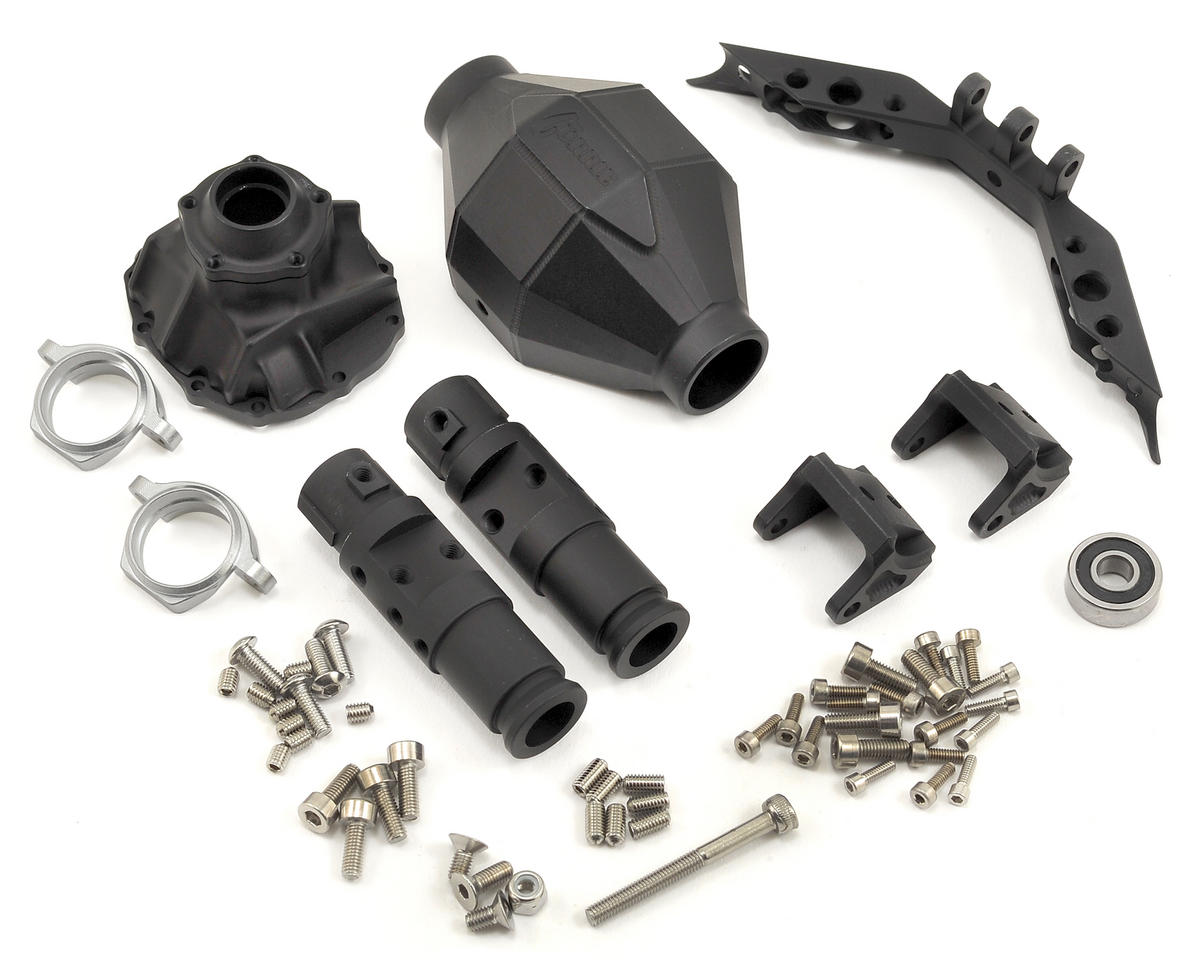 Vanquish Products SCX10 Front Currie F9 Axle (Black)