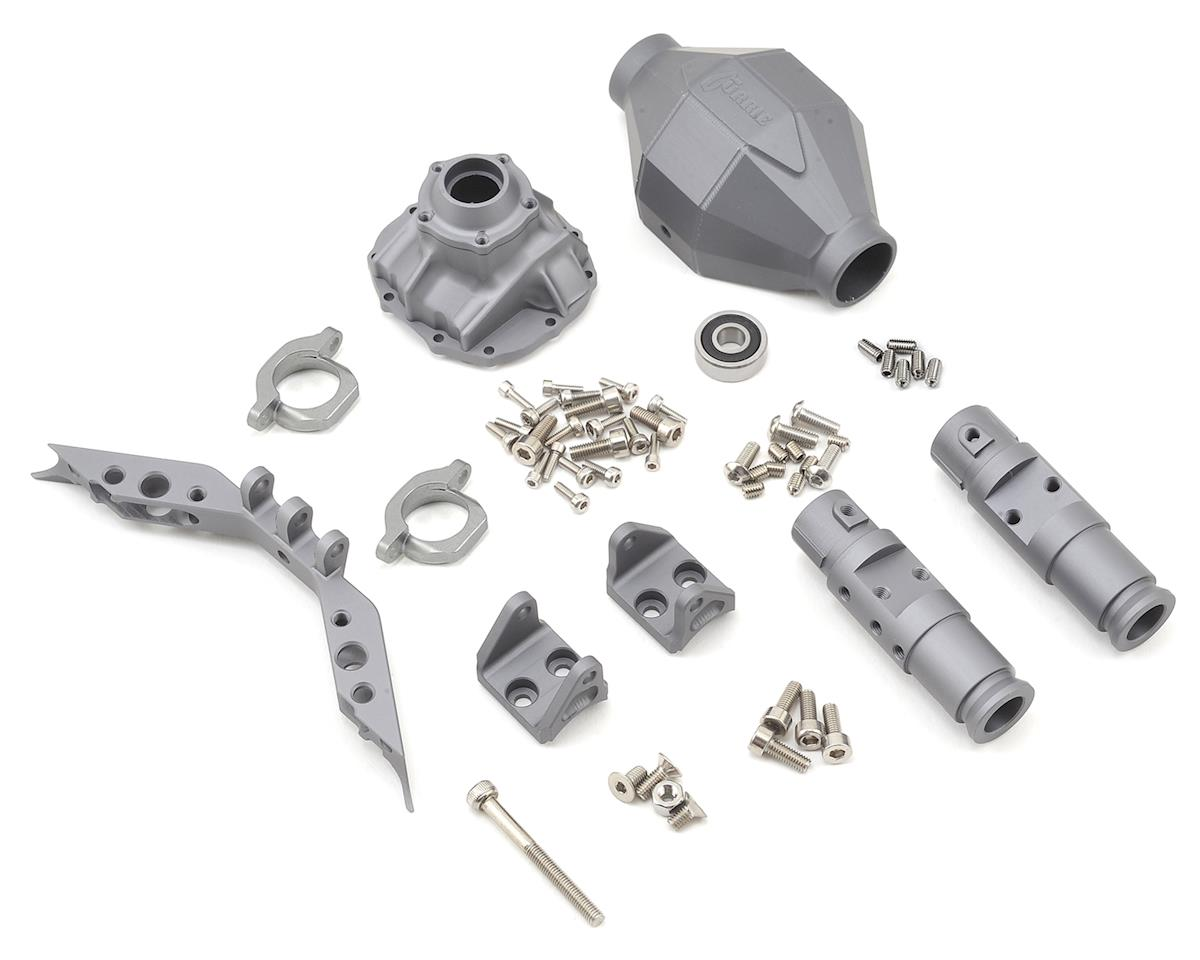 SCX10 Currie F9 Front Axle Assembly (Grey) by Vanquish Products