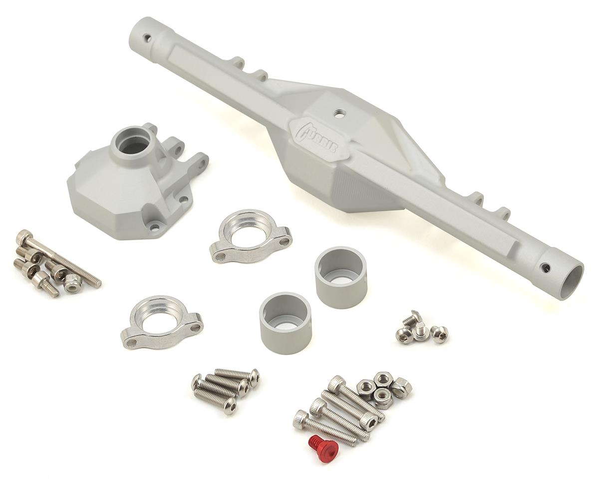 Vanquish Products Currie F9 SCX10 II Rear Axle w/FREE Gears! (Silver)