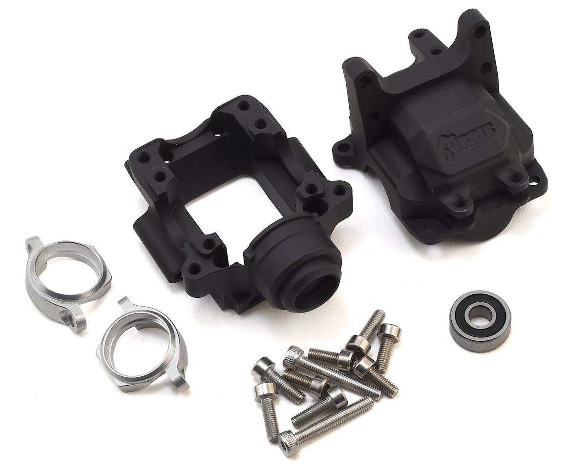 Vanquish Products Yeti Currie F9 Front Bulkhead (Black)