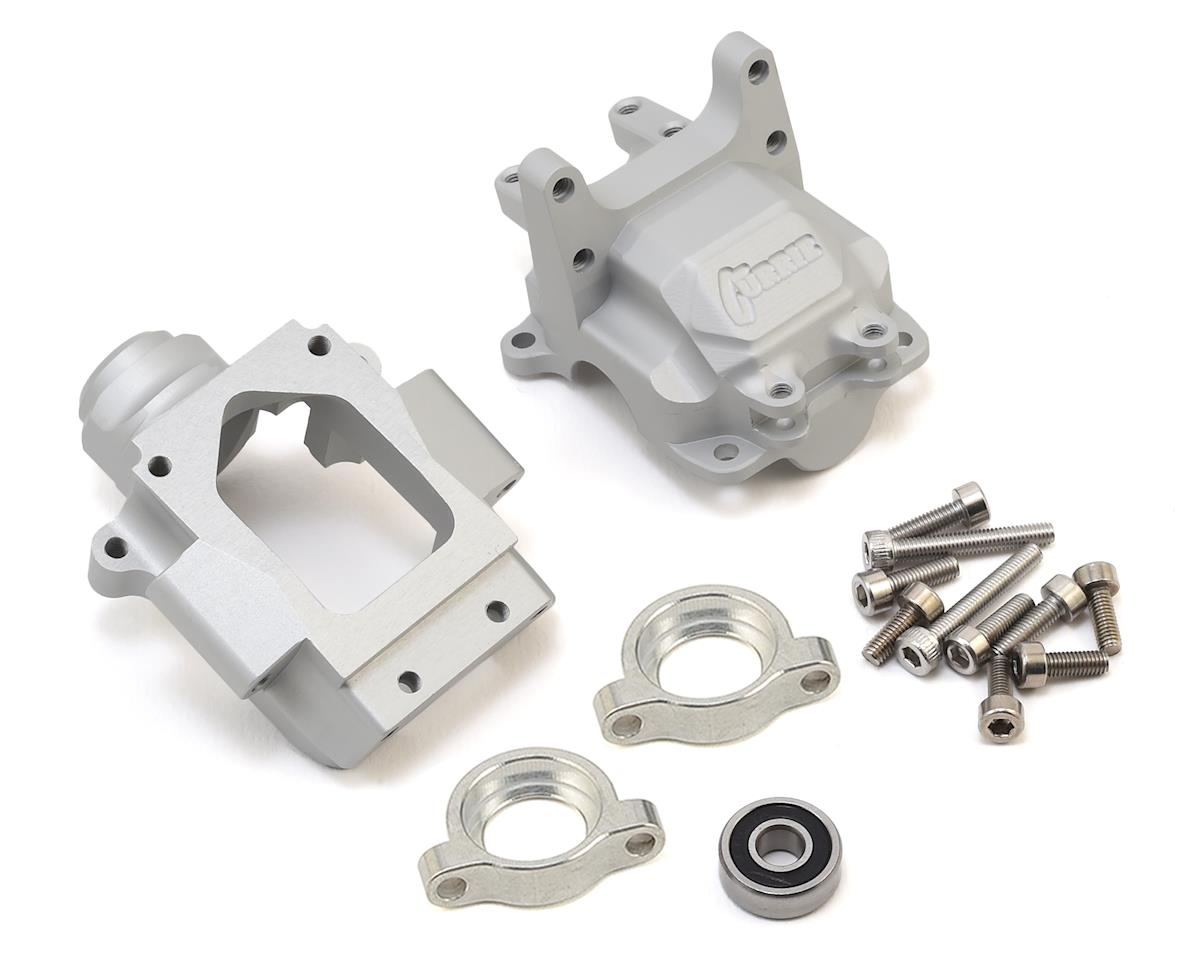 Vanquish Products Yeti Currie F9 Front Bulkhead (Silver)