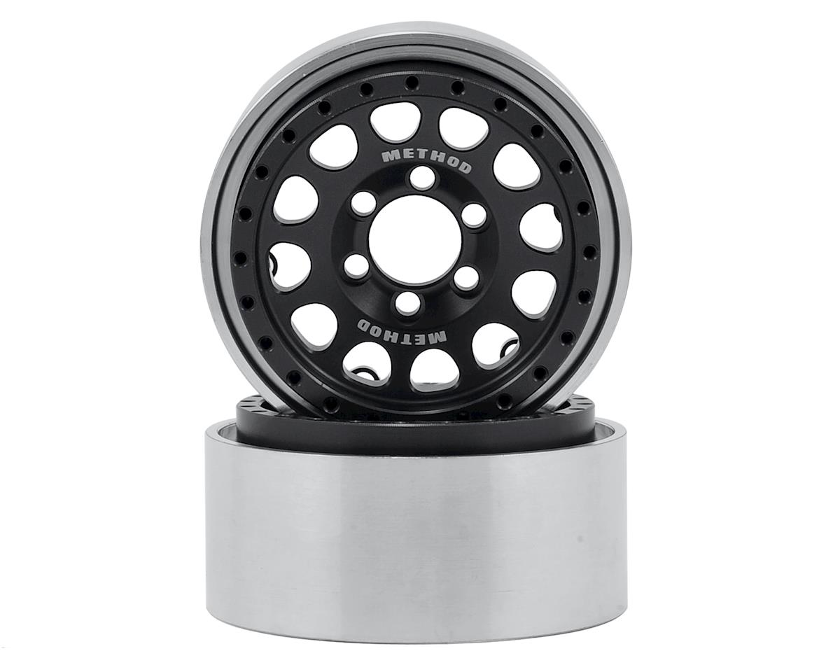 "Vanquish Products Method 105 1.9"" Wheel (2) (Black/Black)"