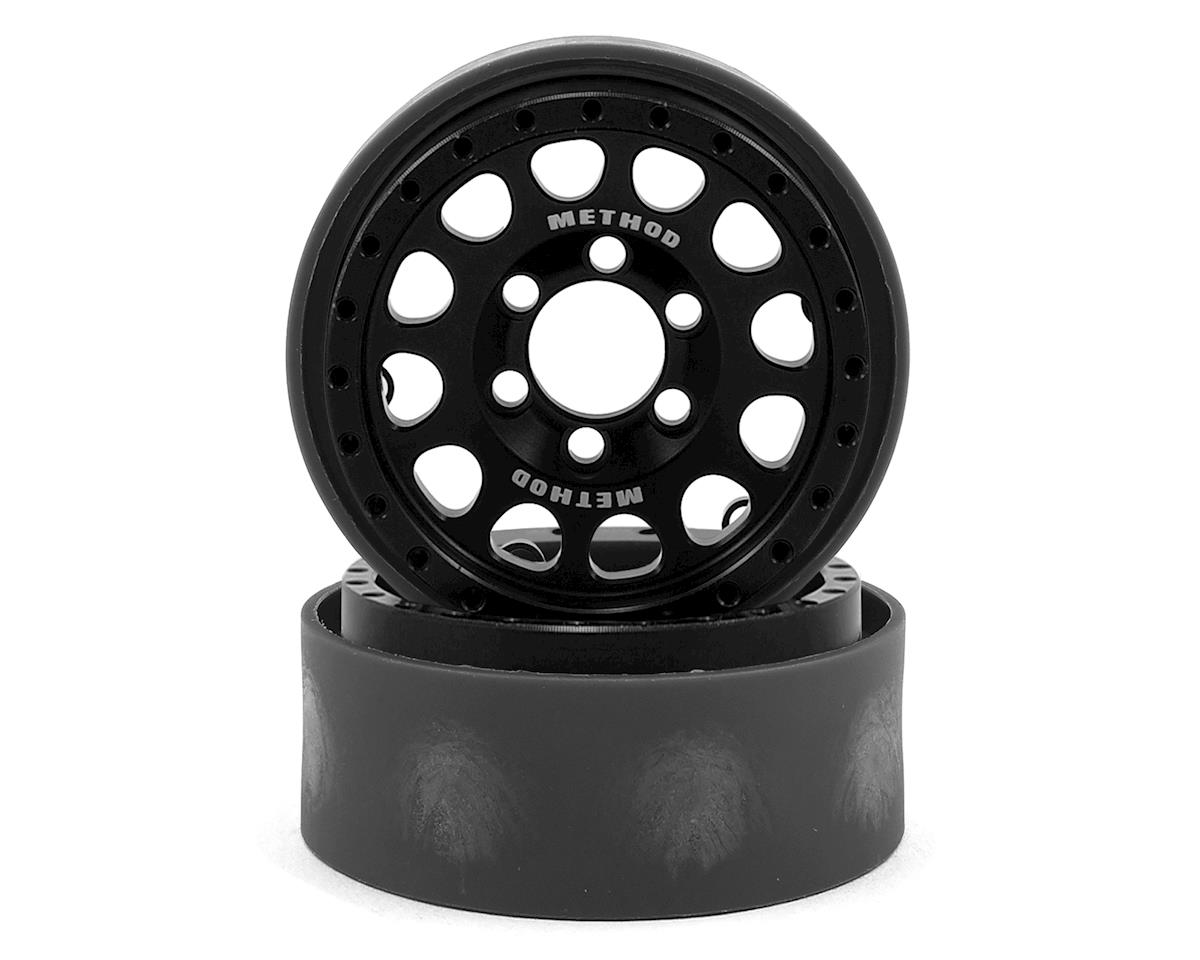 "Vanquish Products Method 105 1.9"" Wheel (2) (Black/Silver)"